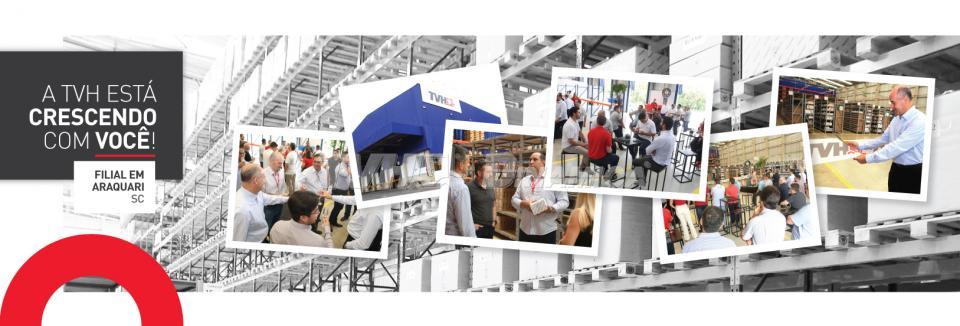TVH inaugura centro de distribuição em Araquari-SC