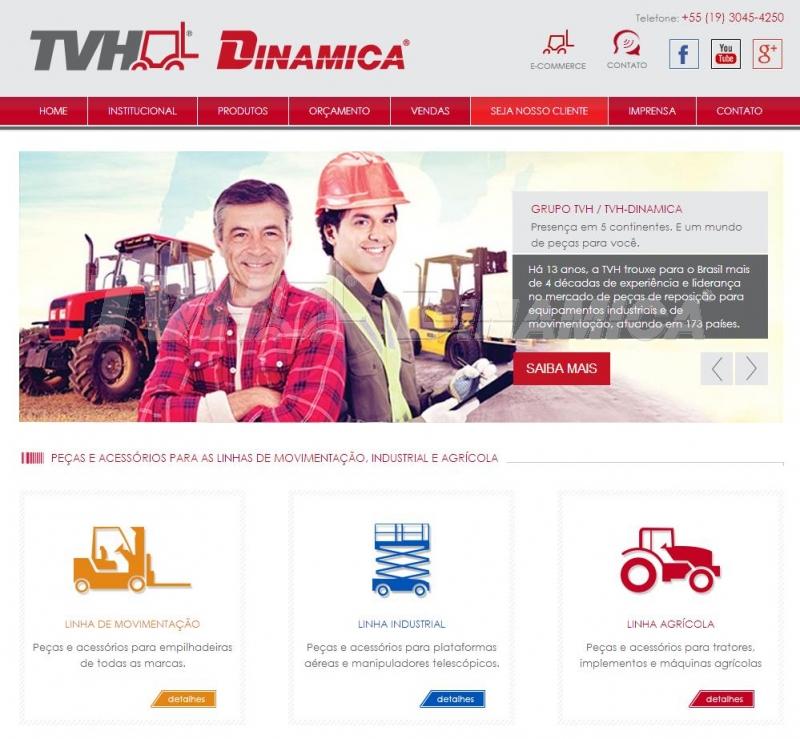 TVH-Dinamica lança novo site