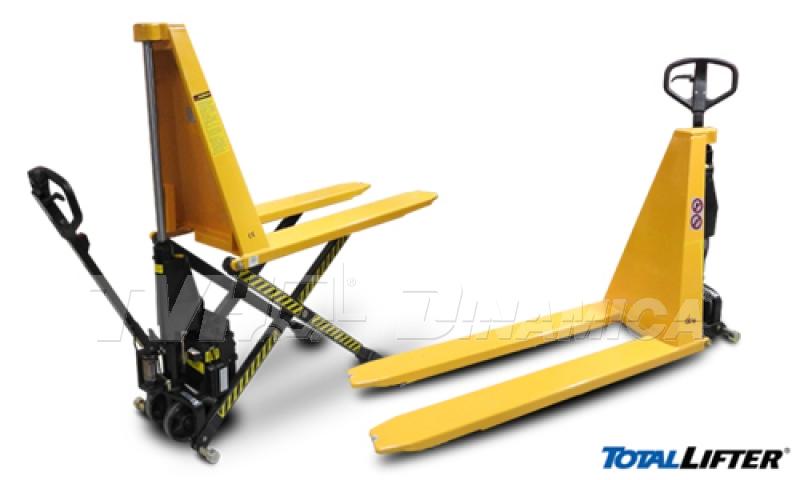 TVH-Dinamica oferece paleteira pantográfica