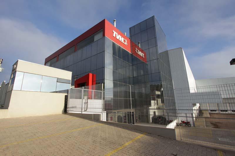 TVH-Dinamica concentra operações na nova sede em Vinhedo-SP