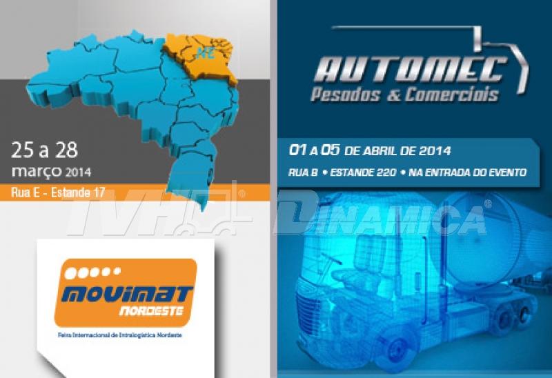 Feiras: Movimat Nordeste e Automec Pesados