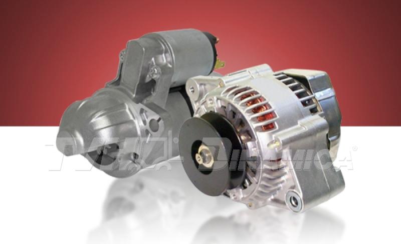 Motores de partida e alternadores para empilhadeiras