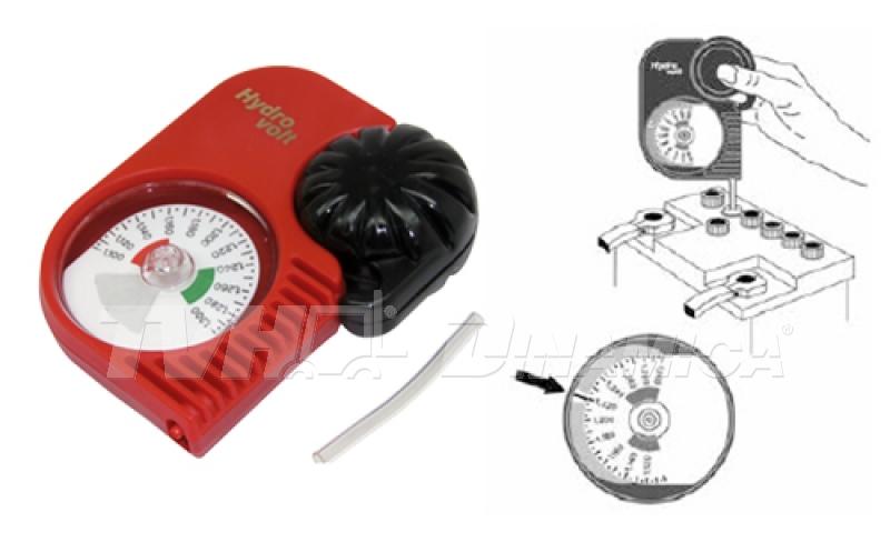 Densímetro para teste de baterias de empilhadeiras