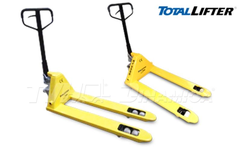 Paleteira manual TotalLifter: mais resistente e alta durabilidade