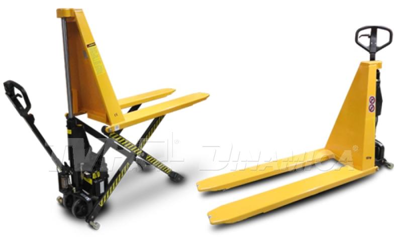 Paleteira pantográfica TotalLifter  para bancadas e linha de montagem