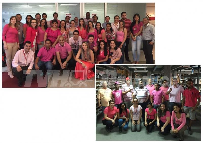 TVH-Dinamica apoia campanha Outubro Rosa