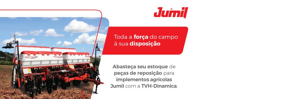 Agora você pode adquirir peças de reposição Jumil na TVH-Dinamica!